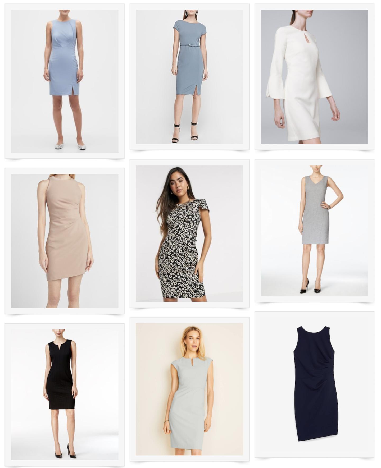 Style Saturday: Professional Dresses