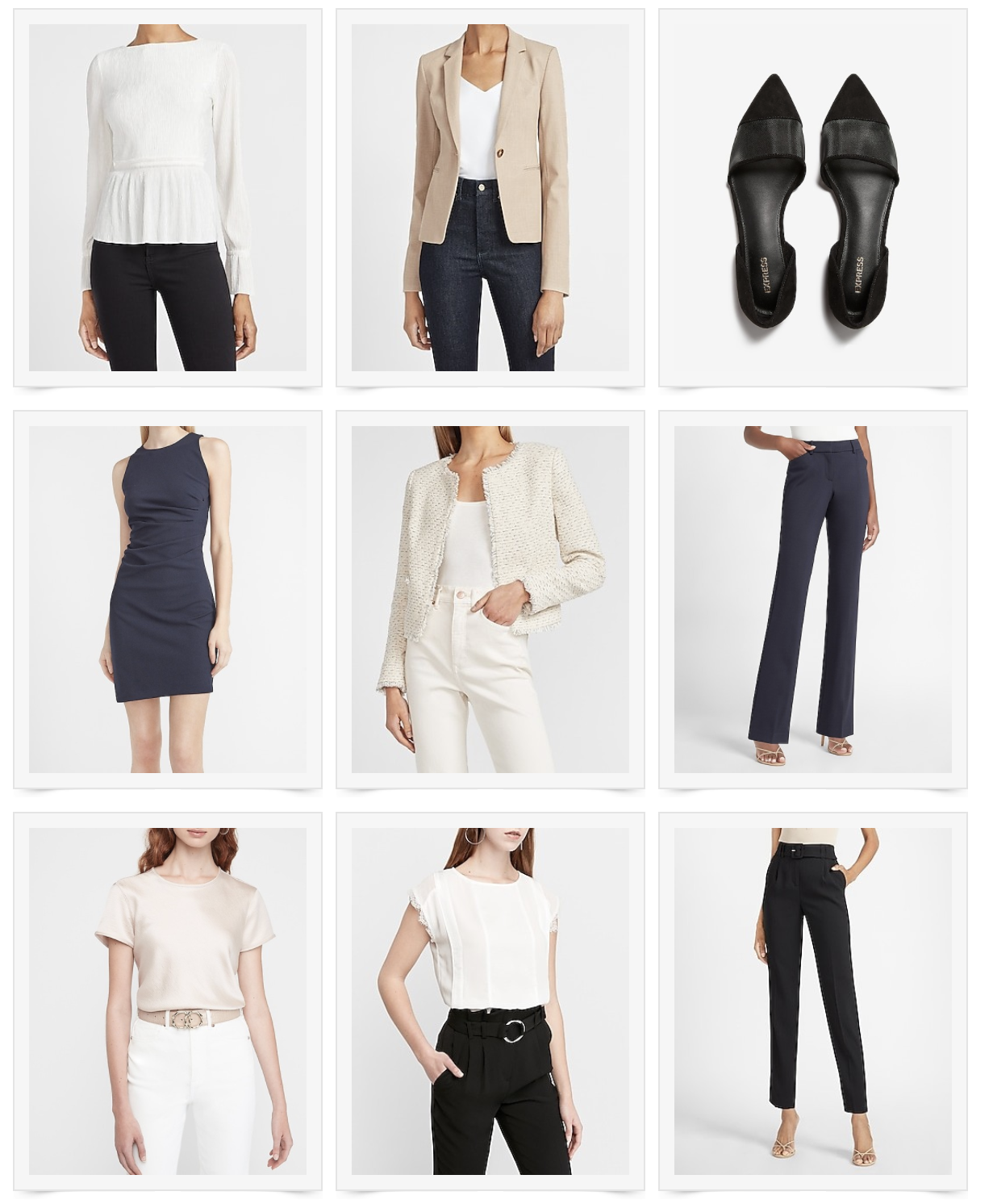 Medical School Clinical Attire Style Saturday: Express Sale!