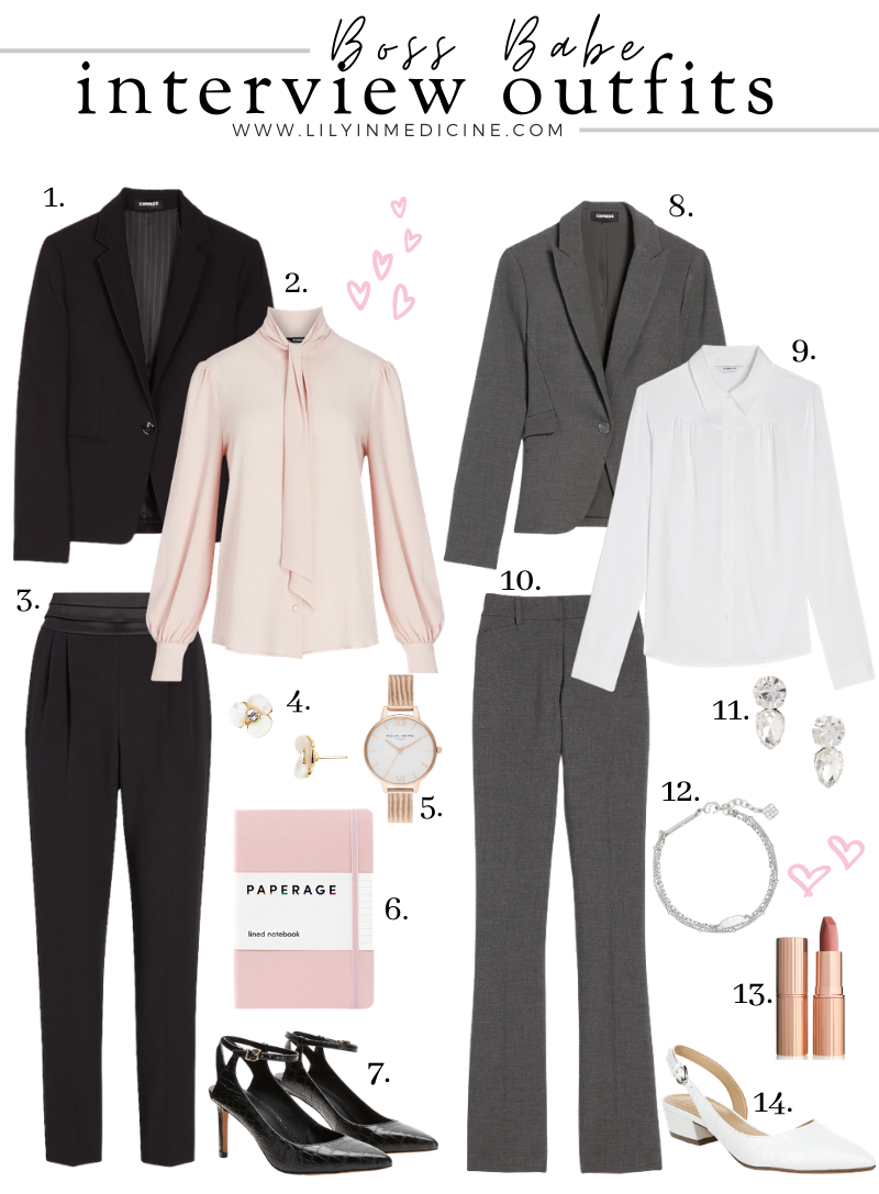 Boss Babe Interview Outfits!