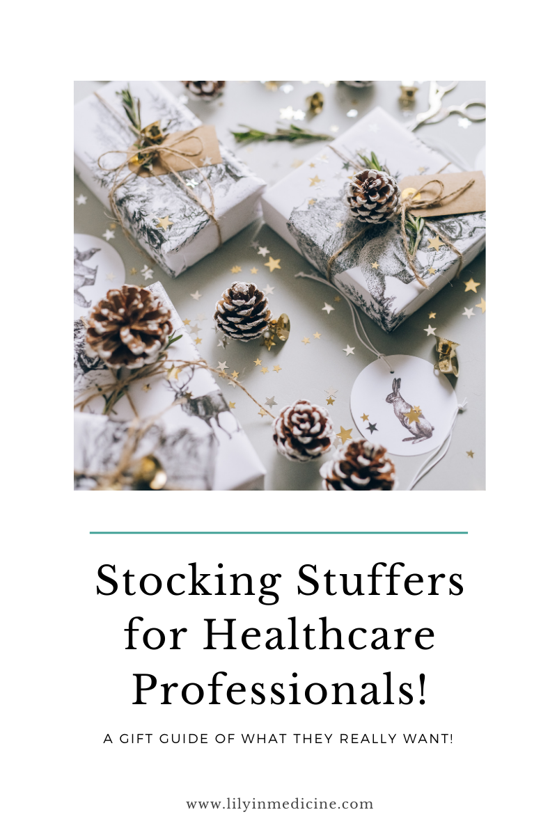 Must-have 2021 Holiday Stocking Stuffers for Healthcare Professionals!